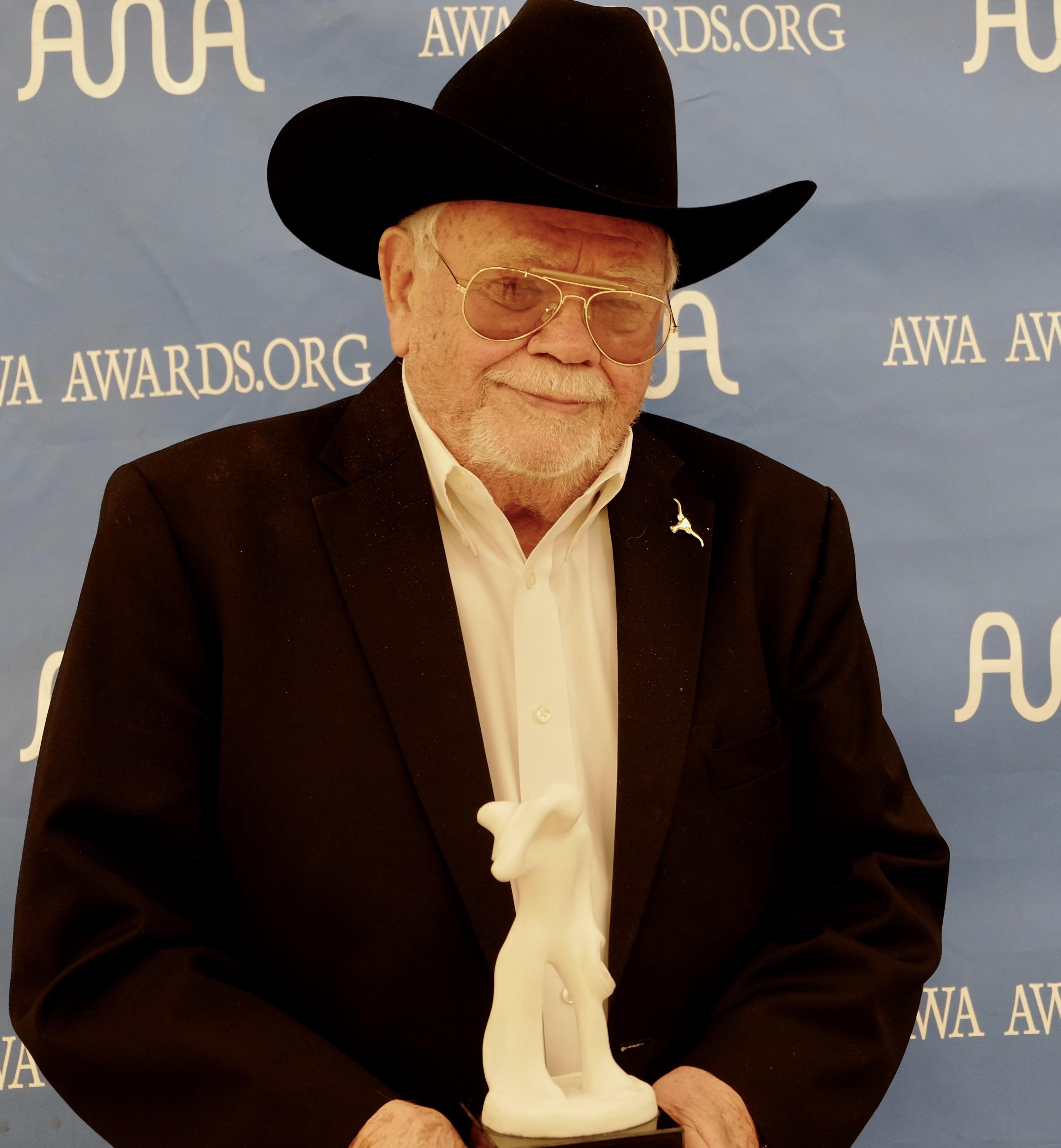 Mr. Bill Mack Lifetime Achievement Award 2017 Academy of Western Artists'